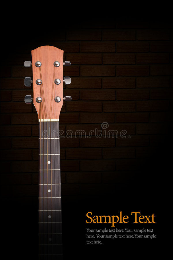 Download Acoustic Guitar Neck stock image. Image of rock, conceptual - 8254359