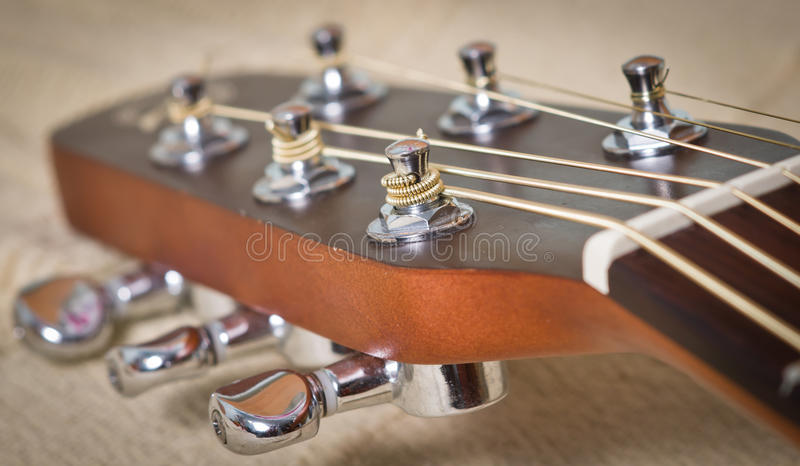 Download Acoustic guitar neck stock photo. Image of musician, play - 33423306