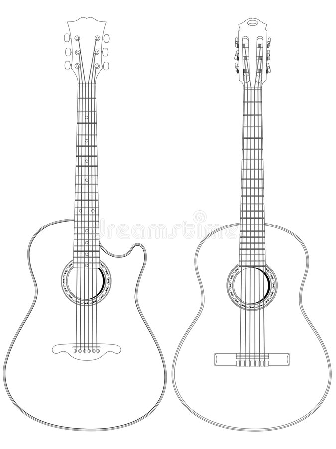 Download Acoustic Guitars Royalty Free Stock Images - Image: 8316029