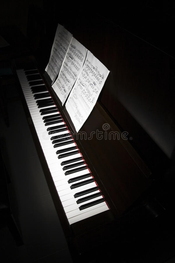 Free Acoustic Piano Stock Photography - 24031702