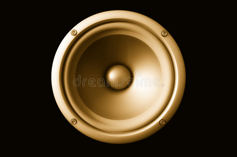 Acoustic speaker royalty free stock photos