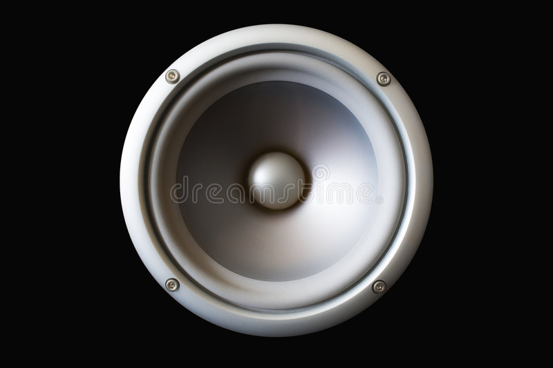 Acoustic speaker royalty free stock photography