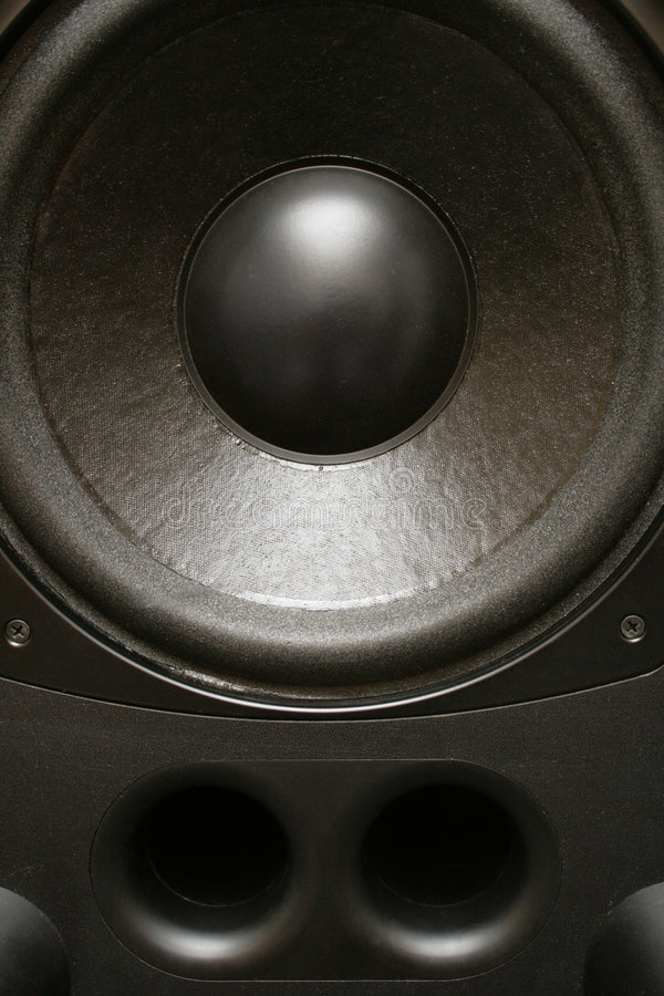 Acoustic speaker royalty free stock image