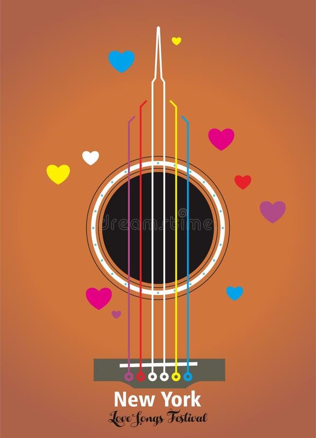 Acoustic 01 stock illustration