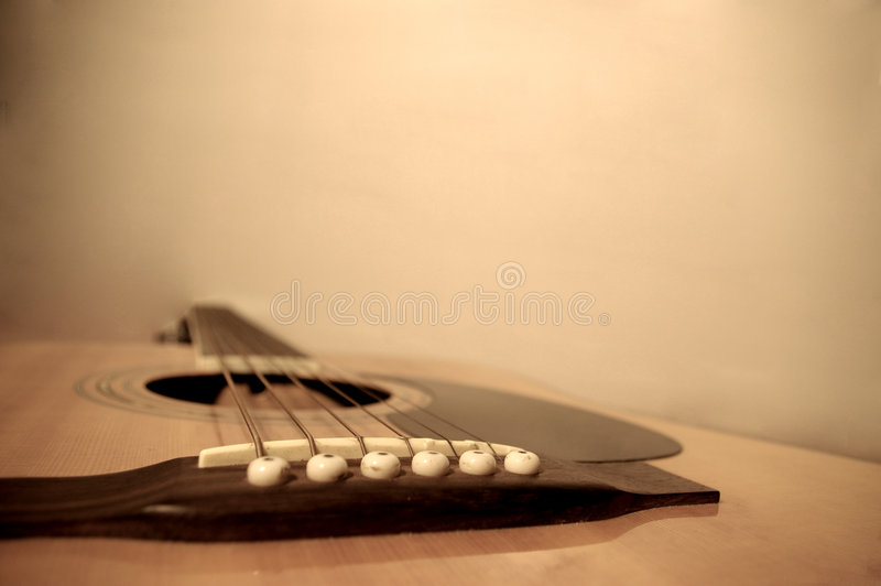 Acoustic Top stock image