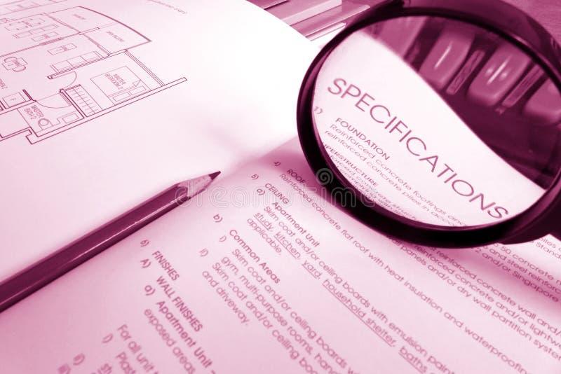 Acquéreur de logement prudent photographie stock libre de droits