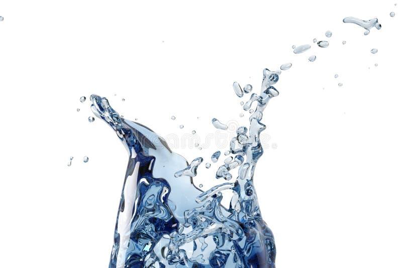 Acqua astratta, spruzzata royalty illustrazione gratis