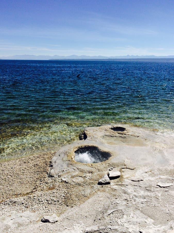 Acqua calda! fotografie stock