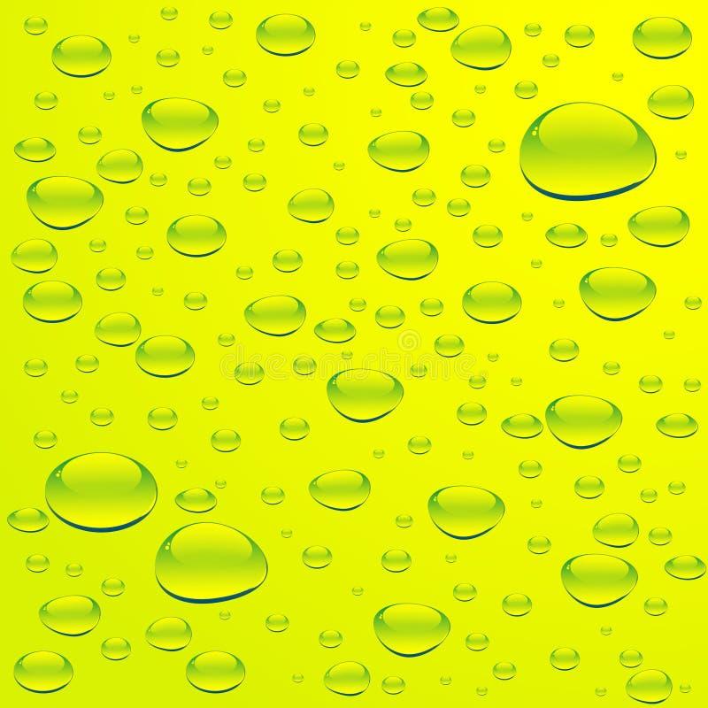 Acqua con le bolle illustrazione di stock