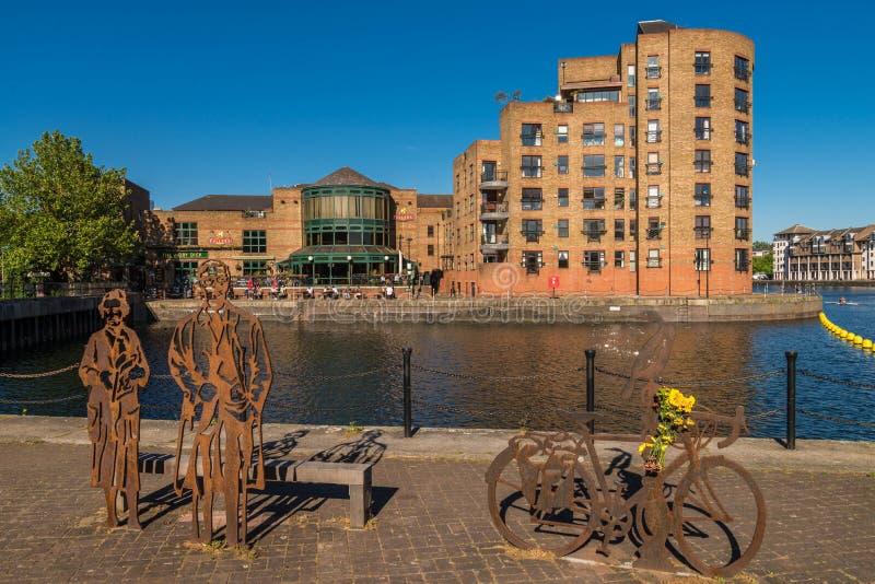 Acqua del Canada, paesaggio urbano Londra Regno Unito immagini stock
