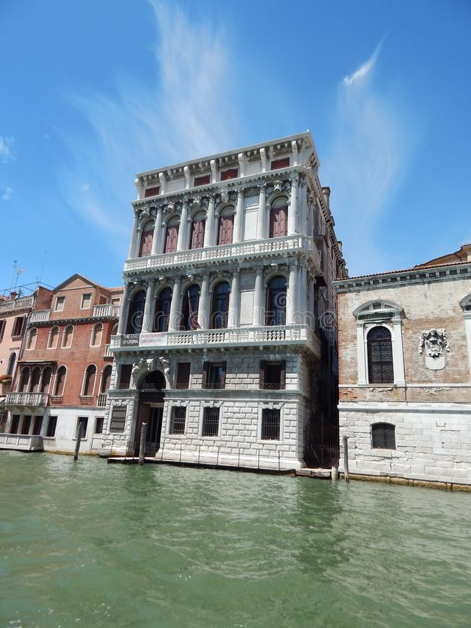 Acqua della colonna di Venezia immagine stock libera da diritti