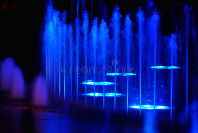 Acqua della fontana fotografia stock