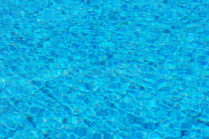 Acqua della piscina fotografia stock