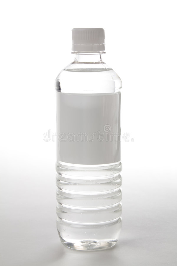 Acqua di bottiglia immagine stock libera da diritti