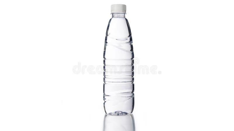 Acqua di bottiglia purificata fotografie stock