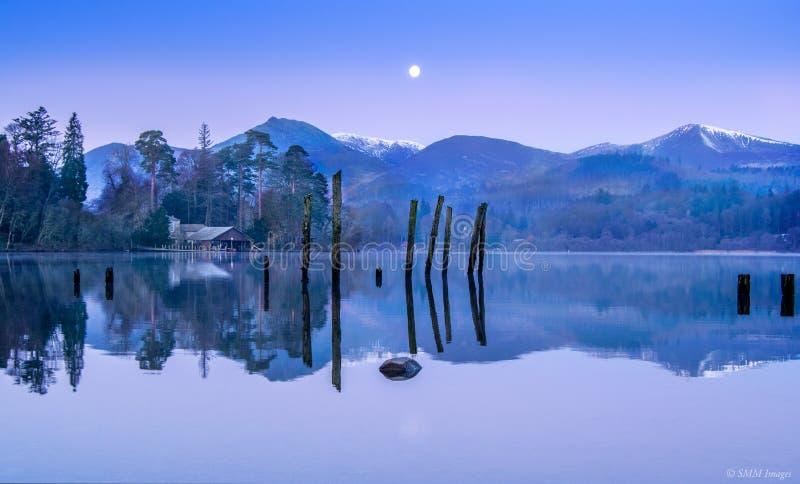 Acqua di Derwent fotografie stock libere da diritti