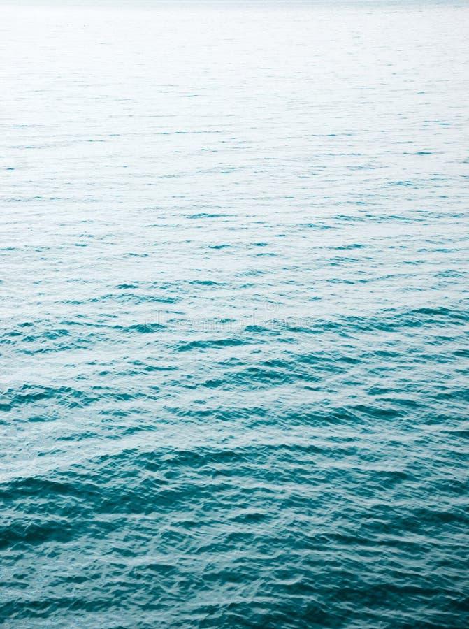Acqua di mare unfocused astratta fotografie stock