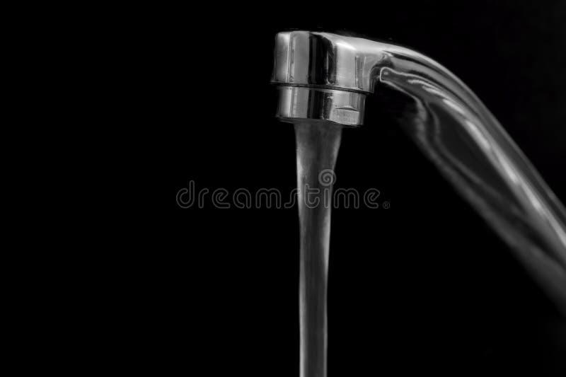 Acqua di rubinetto fotografia stock libera da diritti