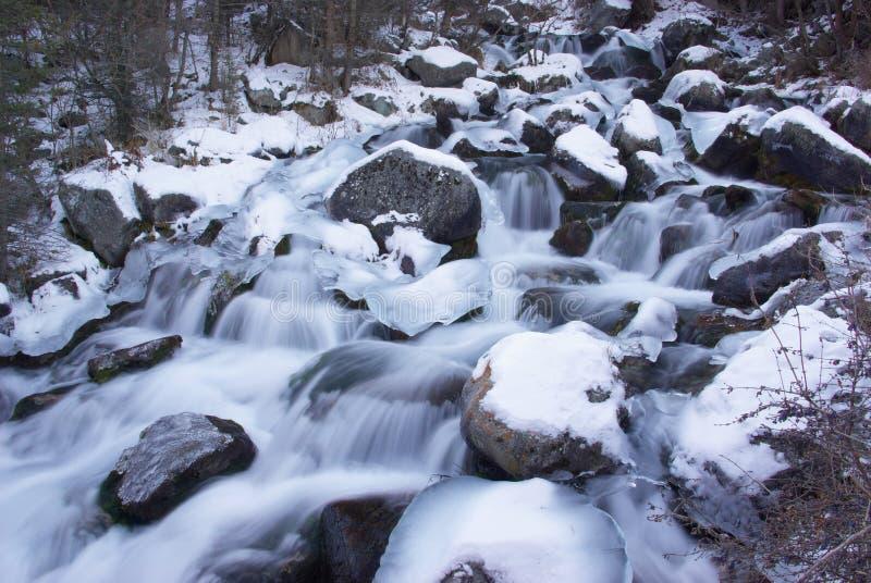 Download Acqua e ghiaccio fotografia stock. Immagine di freddo - 7309270
