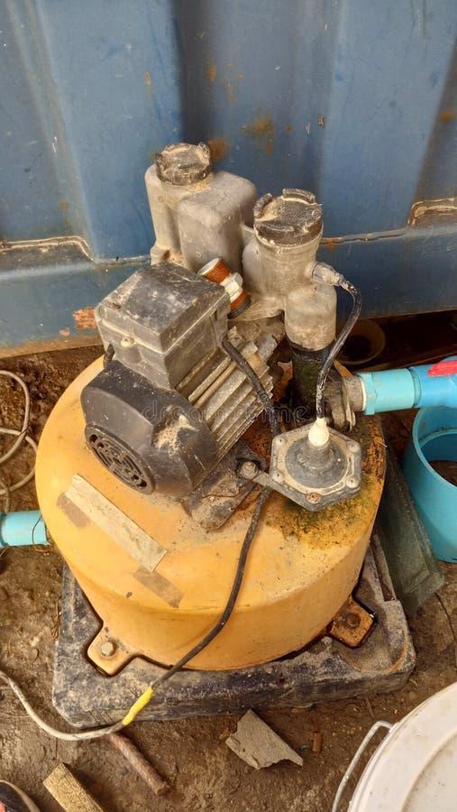 Acqua elettrica della pompa fotografia stock