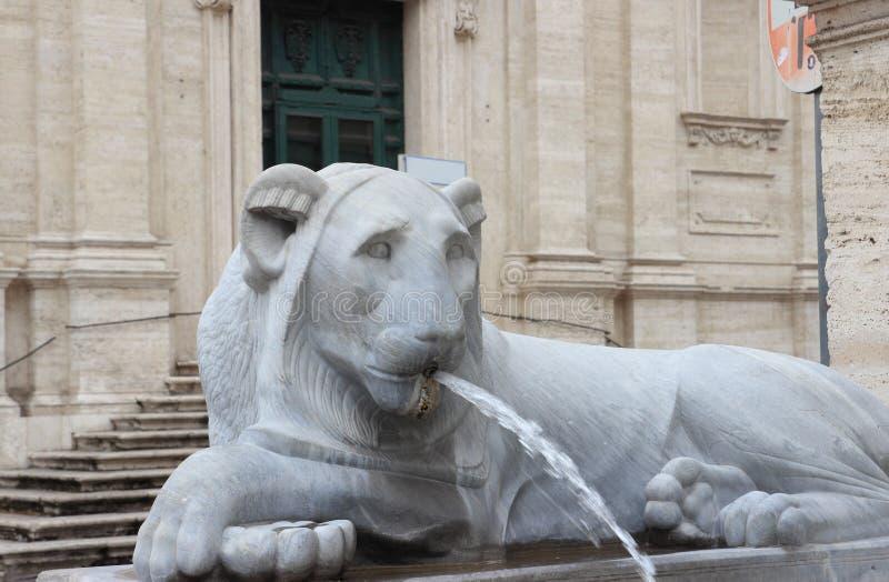 Acqua Felice Fountain imagen de archivo libre de regalías