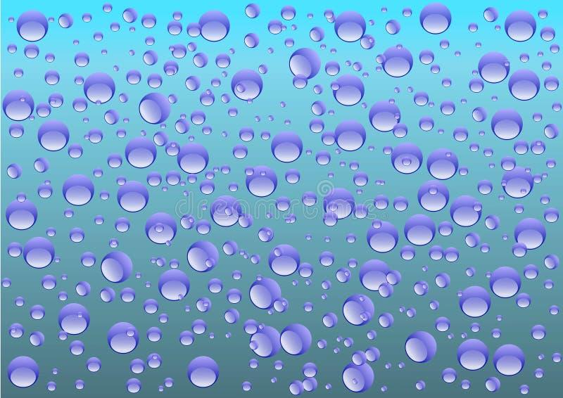 Acqua-goccia illustrazione vettoriale