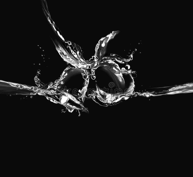 Acqua nera Belhi fotografie stock libere da diritti