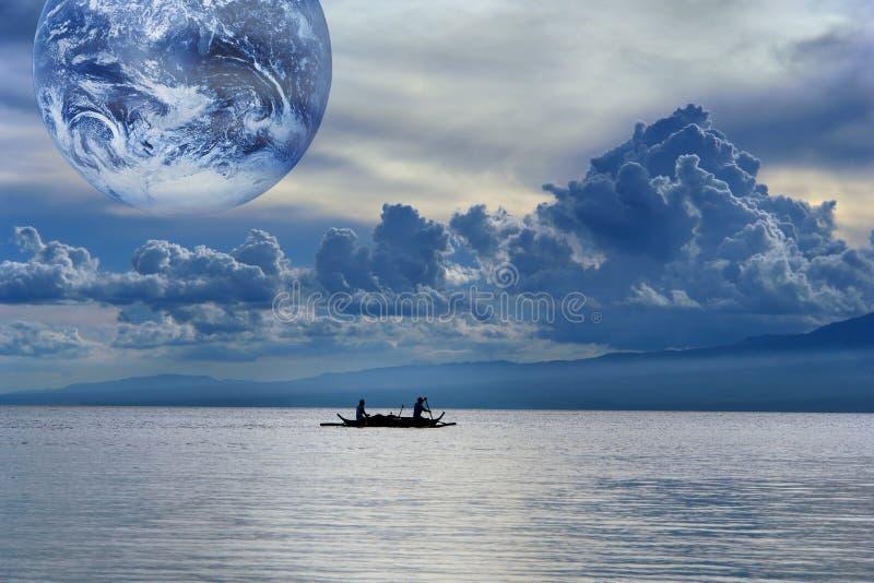 Acqua, sorgente globale di vita. fotografia stock libera da diritti
