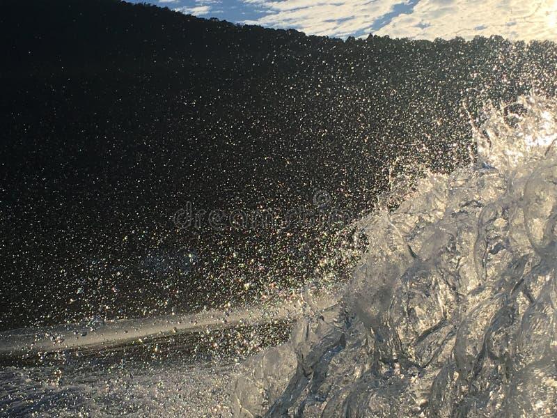 Acqua sul lago immagine stock