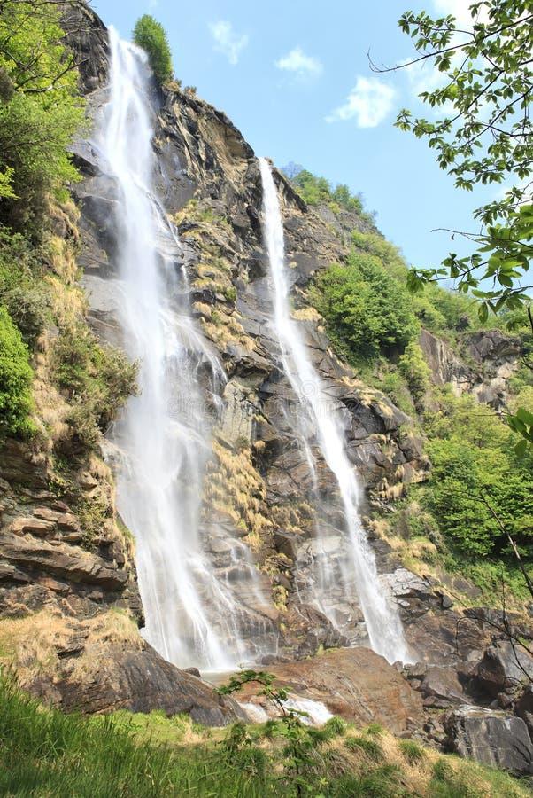 Free Acquafraggia Waterfall In Sondrio Stock Images - 19304704