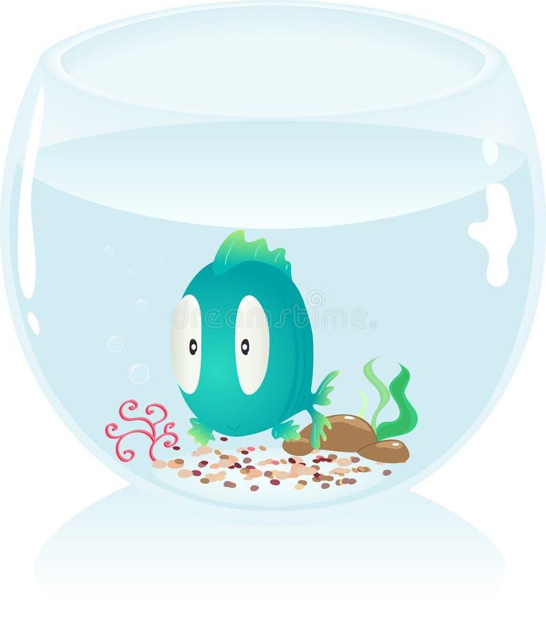 Acquario illustrazione vettoriale