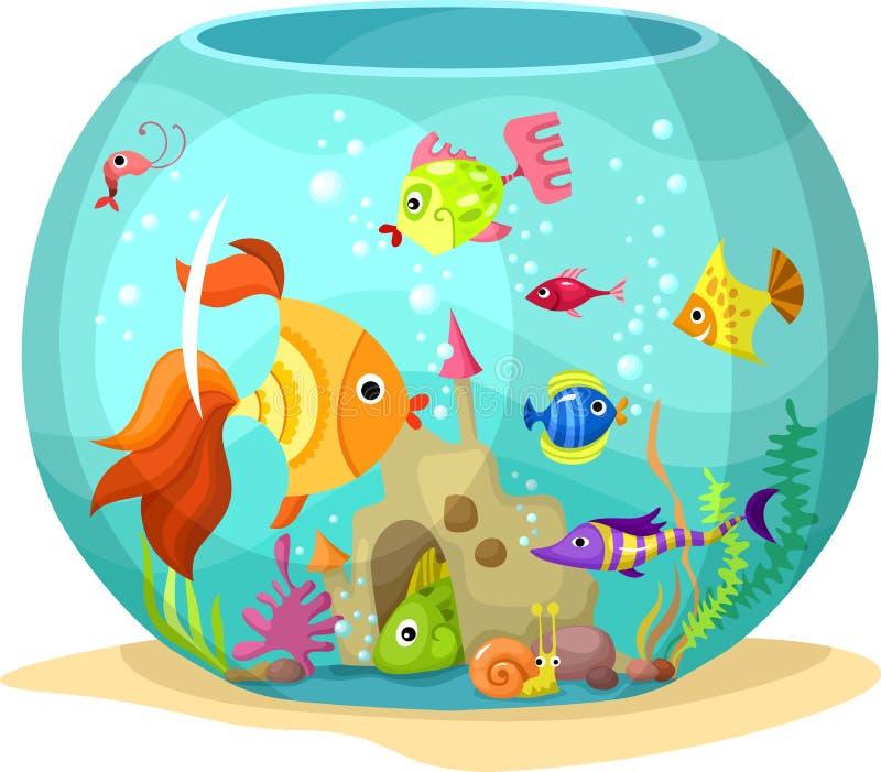 Acquario illustrazione di stock