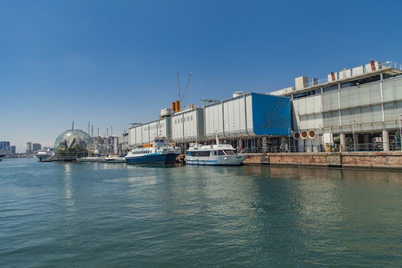 Acquario di Genova in Italia fotografia stock libera da diritti