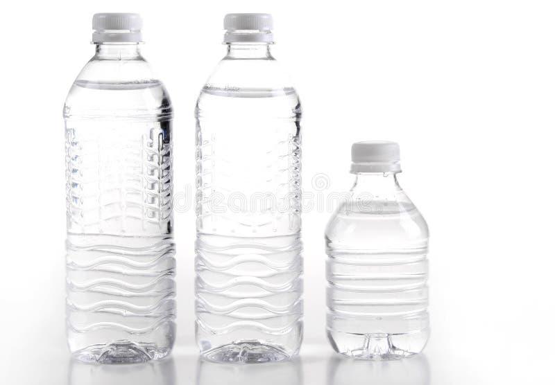 Acque di bottiglia immagini stock