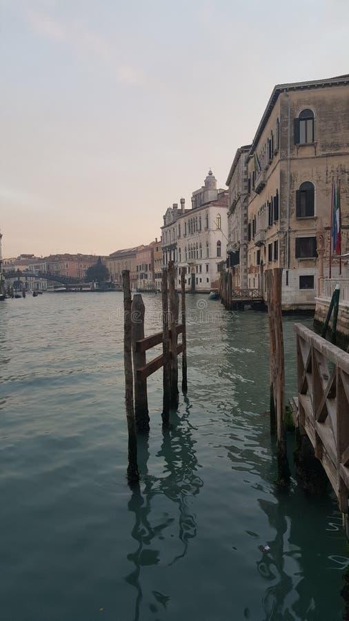 Acque di Venezia fotografia stock