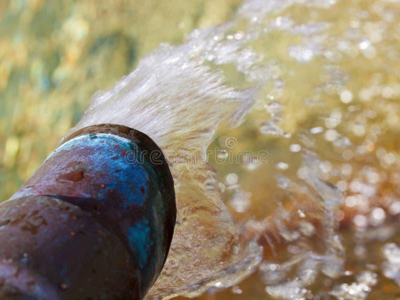 Acque pulite per irrigazione fotografie stock