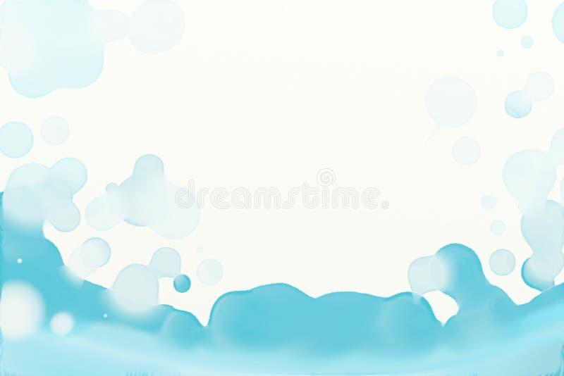 Acquerello mescolantesi 016 royalty illustrazione gratis