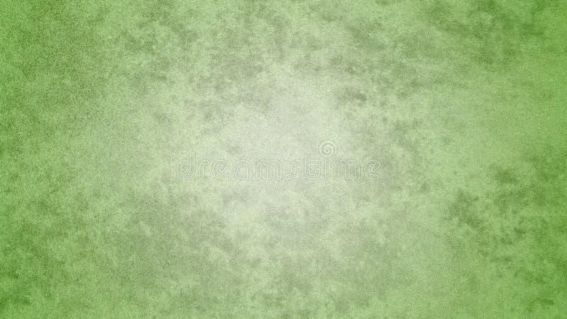 Acquerello verde pastello di lerciume dell'estratto per fondo illustrazione vettoriale