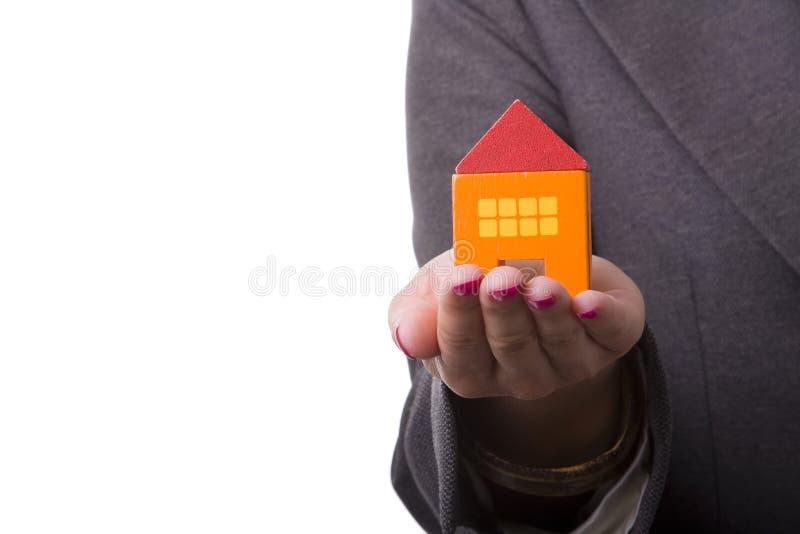 Acquisto della casa nuova fotografia stock