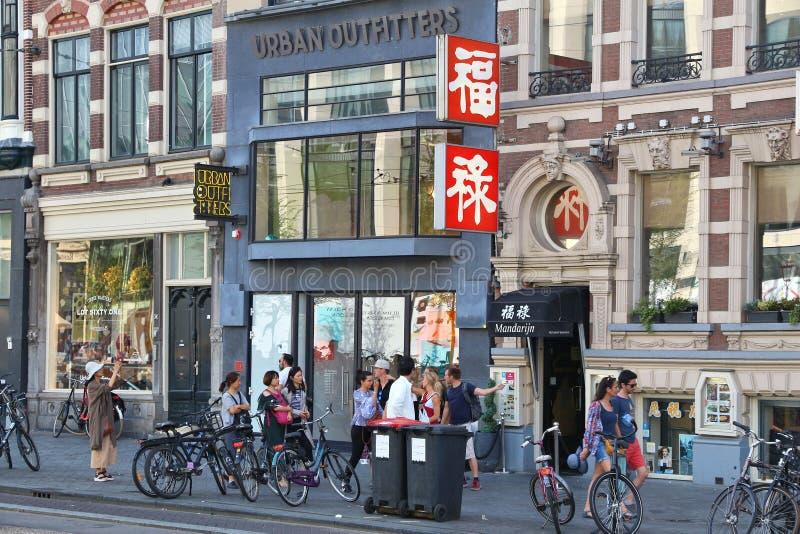Acquisto di Amsterdam immagine stock