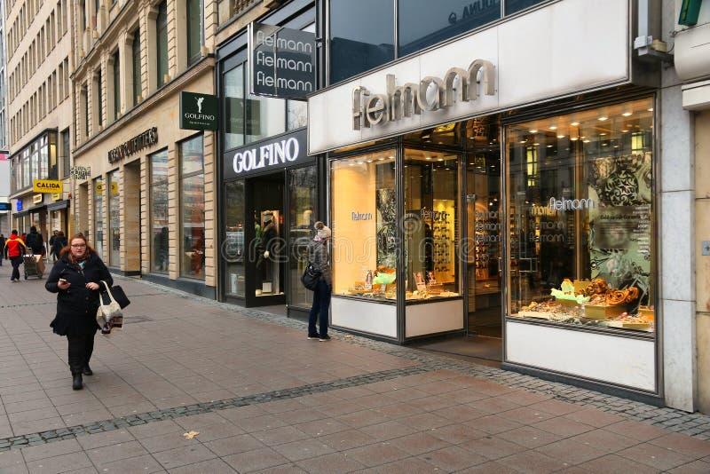 Acquisto di Francoforte immagini stock libere da diritti
