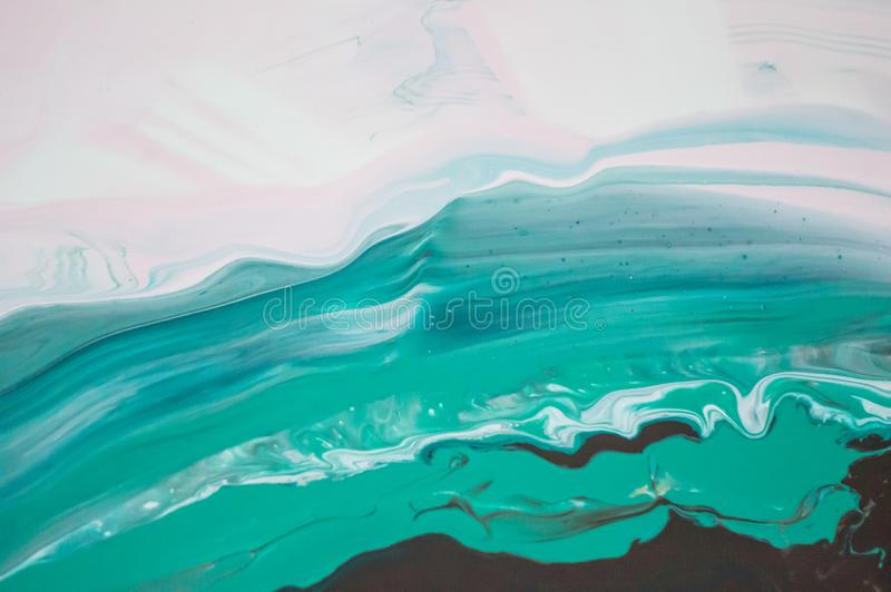 Acrílico, pintura, abstrata Close up da pintura Fundo abstrato colorido da pintura pintura de óleo Alto-textured De alta qualidad fotografia de stock royalty free