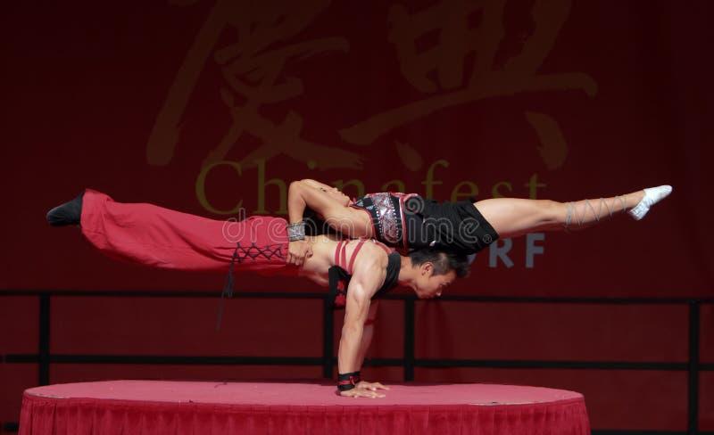 Acróbata del circo chino del estado. fotos de archivo libres de regalías