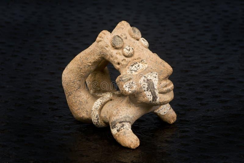 Acróbata precolombino. imagen de archivo libre de regalías