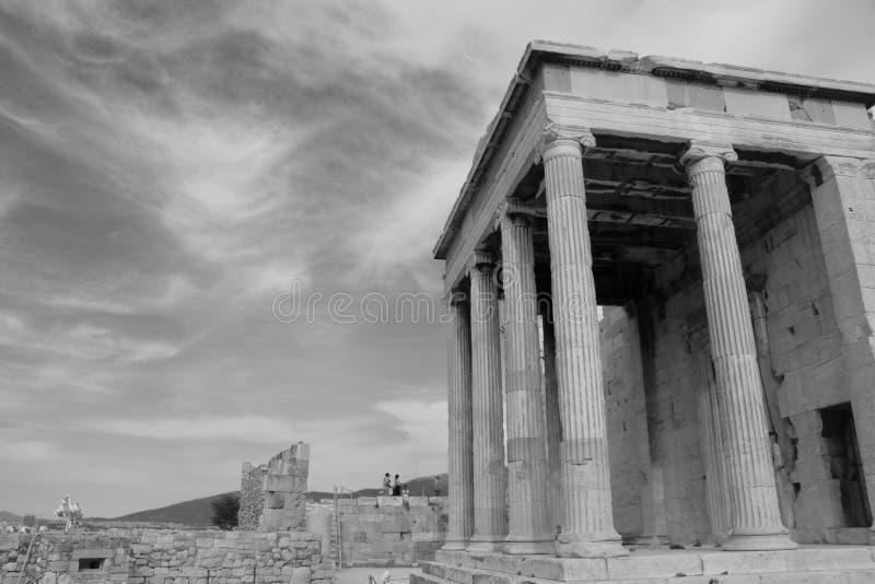 Acrópole de Atenas imagens de stock