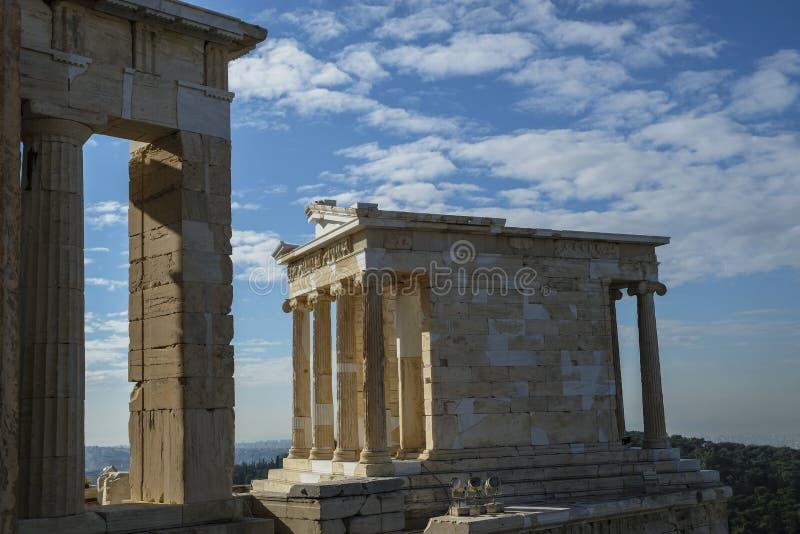 A acrópole em Atenas, Grécia imagem de stock royalty free