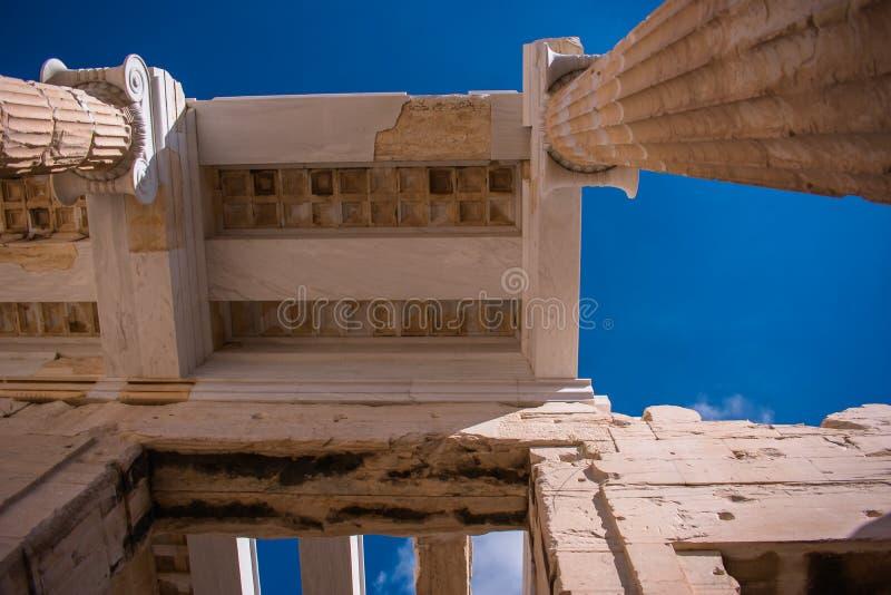 Acrópolis de Atenas fotos de archivo