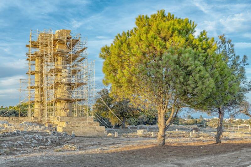 Acrópolis de Rodas fotografía de archivo