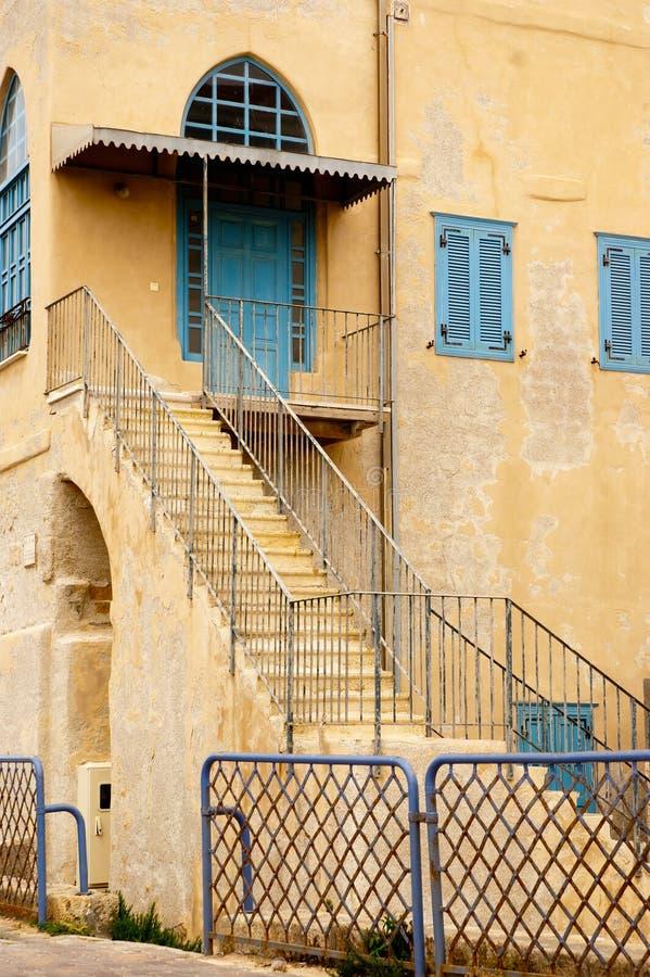 Acre árabe Israel da arquitetura imagem de stock