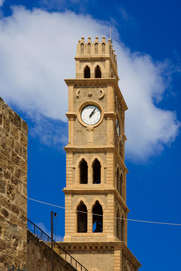 Acre Clock Tower royalty free stock image